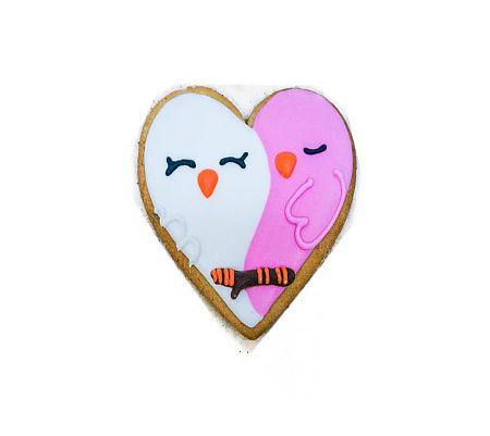 Сердце птички