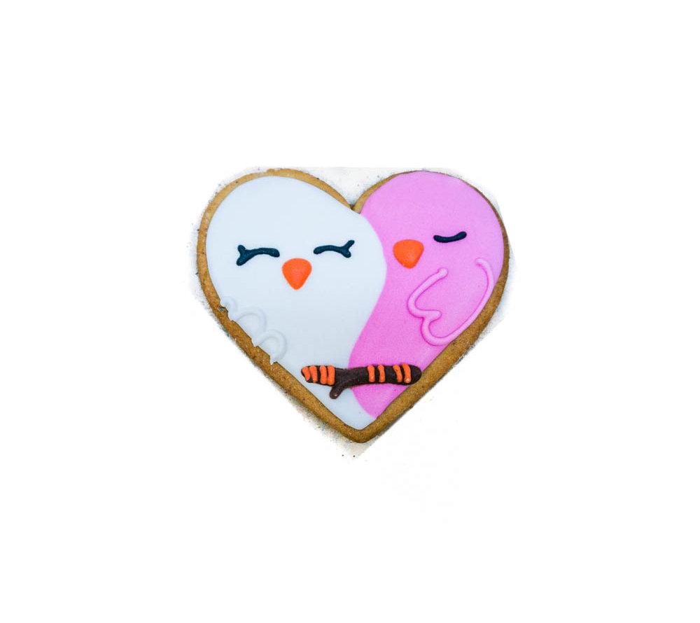 Сердце с птичками