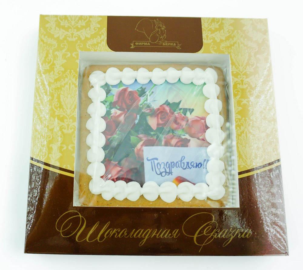 Шоколадная сказка Поздравляю розы